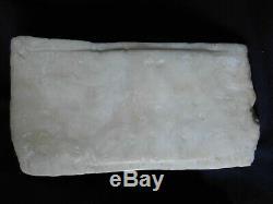 ANCIEN SCULPTURE STATUE du CHRIST ALBTRE ALBASTER ANTIQUE art populaire