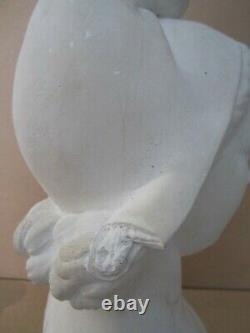 Ancien Buste Marianne Platre Circa 1940/50 D'apres Pierre Marie Poisson/old Bust