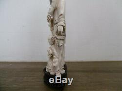 Ancien Netsuke Okimono Chine Japon statue sculpture