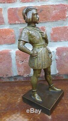 Ancien bronze patiné. Ecole française XIXème. Statue Antique sculpture