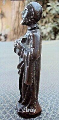 Ancien petit bronze religieux ou philosophe a identifier 18/19 ème