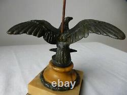 Ancien porte-montres bronze statuette Aigle Début XIXème. Antique Watch holder