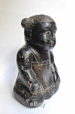 Ancienne Poupée en Bois Birmanie vers 1900 Burmese doll