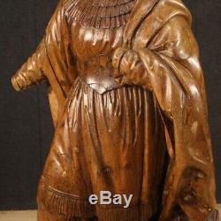 Ancienne sculpture religieuse statue sainte Thérèse extase XVIIIème siècle 700