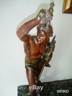 Ancienne statue de Jean Baptiste germain