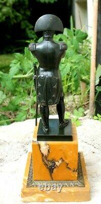 Ancienne statue en bronze napoléon Bonaparte