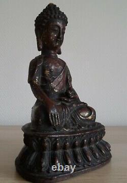 Antique ancien bronze Chinese MING BUDDHA BOUDDHA Chinois Chine China XVII