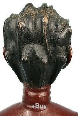 Art Africain Ancienne & Authentique Statue Maternité Colon Abron 46 Cms ++++