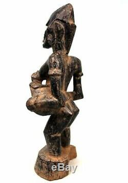 Art Africain Ancienne Maternité Senoufo Archaïque Senufo Maternity 46 Cms