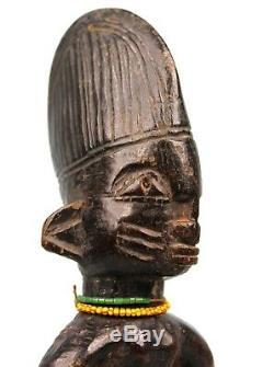 Art Africain Arts Premiers Ancien Fétiche Ibeji Ibedji Yoruba Nigéria 25 Cms