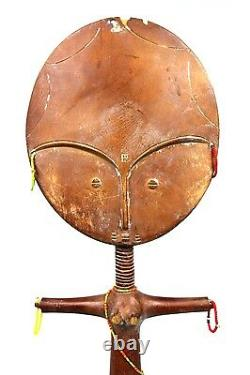 Art Africain Arts Premiers Ancienne Poupée de Fécondité Ashanti 33,5 Cms +++