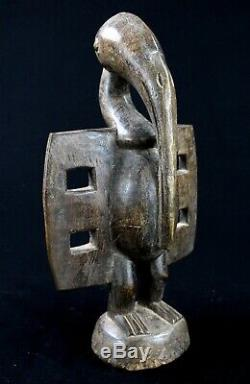 Art Africain Premier Ancien Calao Senoufo Senufo African Bird 29,5 Cms +++++