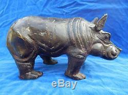 BRONZE ANIMALIER ANCIEN / Old animal bronze HIPPOPOTAME / Hippopotamus TOP