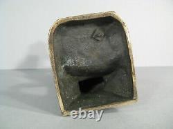 Bacchanale Faune Nymphe Sculpture Bronze Ancien Signé Clodion Fondeur LV