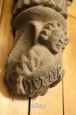 Bretagne statue vierge ancienne Folgoët Finistère