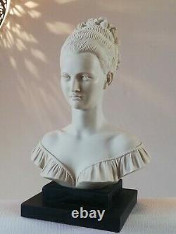 Buste de femme ancien signé A. Giannelli