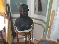 Grand buste ancien de Napoléon Bonaparte