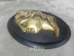 Haut-relief En Bronze Ancien Marianne