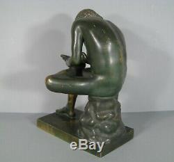 Le Tireur Dépine Sculpture Ancienne Bronze Musée Du Capitole / Bronze Spinario