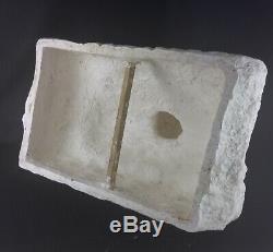 RARISSIME ANCIEN ET IMPORTANT BUSTE STATUE PLTRE D ATELIER BRESSANE 55x55cm