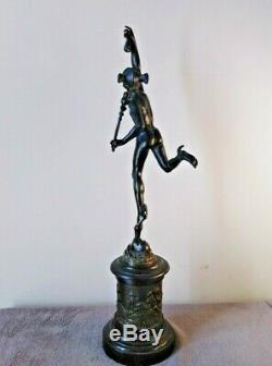 Sculpture ancienne bronze mercure Giambologna maniérisme dieux Mythologie