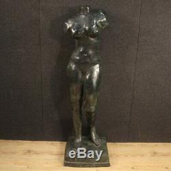Sculpture italienne en bronze meuble statue Vénus style ancien art 900