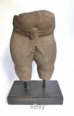 Statue Ancienne en PIERRE GANESH CAMBODGE KHMER PRE- ANGKORIEN Vllème