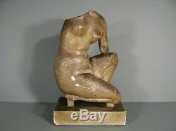 Statue Déesse Aphrodite Venus Nue Ancien Pltre Moulage Musée Du Louvre 675