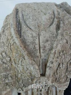 Statue ancienne Tete coupée sous la Révolution
