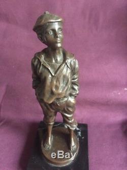Statue sculpture Enfant bronze ancien Année 1900 25101880