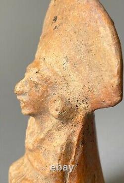 Statuette Maya 600 à 900 Ap Jc art précolombien precolumbian Amerique ancienne
