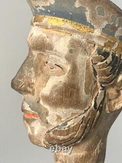 Tête de noble, Italie, XVIIIè s Art européen ancien