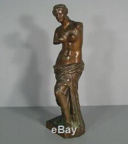 Venus De Milo Sculpture Ancienne Bronze Musée Du Louvre Réduction Collas