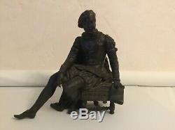 #yd# Statue ancienne Henri IV avec le bulletin des lois sculpture